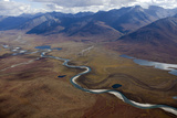 The Noatak River Winds Through the Brooks Range Photographic Print by Michael Christopher Brown