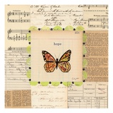 Hope Butterfly Giclee Print by Courtney Prahl