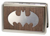 DC Comics - Batman Logo Wood Business Card Holder Novelty