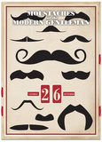 Moustaches - Perpetual Calendar Calendars
