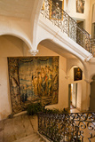 The Main Staircase in Chateau De Flaugergues Photographic Print by Taylor S. Kennedy