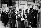 Civil Rights March Archival Photo Poster Prints