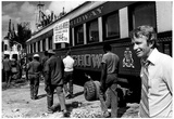 Circus Side Show Boxcar Train Archival Photo Poster Print