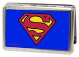 DC Comics - Superman Logo Shield Blue Business Card Holder Novelty
