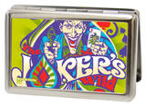 DC Comics - Joker's Wild Green/Purple Business Card Holder Novelty