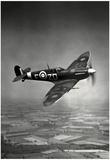 Supermarine Spitfire Mk V 1942 Archival Photo Poster Affiches