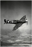 Supermarine Spitfire Mk V 1942 Archival Photo Poster Prints