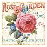 Rose Garden I Giclee Print by Lisa Audit