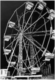 Vintage Chicago Ferris Wheel 1944 Archival Photo Poster Prints