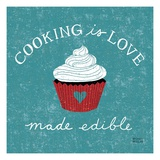 Cooking is Love Premium Giclee Print by Michael Mullan