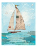 Coastal Notes I Giclee Print by Courtney Prahl