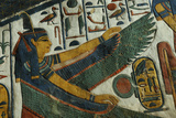 The Goddess Ma'at from the Tomb of Nefertari Photographic Print by Kenneth Garrett