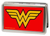 DC Comics - Wonder Woman Logo Red Business Card Holder Novelty