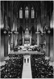St Patrick's Cathedral New York 1946 Archival Photo Poster Plakater