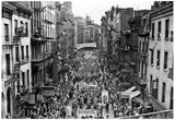 New York Chinatown 1941 Archival Photo Poster Poster