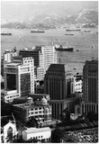 Hong Kong 1960 Archival Photo Poster Print