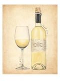 Grand Cru Blanc Premium Giclee Print by Emily Adams