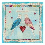 Love Birds Giclee Print by Courtney Prahl