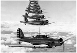 Dauntless Divebomber 17th Attack Group 1939 Archival Photo Poster Posters