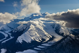 Muldrow Glacier in the Alaska Range Photographic Print by Ralph Lee Hopkins