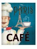 Worlds Best Chef II Giclee-tryk i høj kvalitet af Daphne Brissonnet