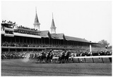 Kentucky Derby Horse Racing 1960 Archival Photo Poster Zdjęcie