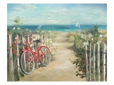 Summer Ride Crop Premium Giclee Print by Danhui Nai