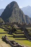 Machu Picchu Is the Site of an Ancient Inca City, at 8,000 Feet Reproduction photographique par Jonathan Irish