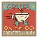 Coffeehouse III Premium Giclee Print by  Pela