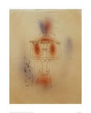 Singer of the Comic Opera Giclee Print by Paul Klee