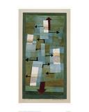 Equilibre instable Reproduction procédé giclée par Paul Klee