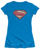 Juniors: Man of Steel - New Solid Shield T-shirts