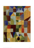 Urban Composition with Yellow Windows Giclee Print by Paul Klee
