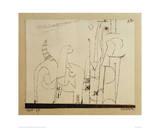 Gatos Impressão giclée por Paul Klee