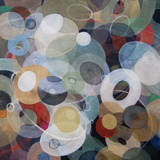 Circles 8 Prints by Michael den Hertog