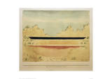 The Sea Behind the Dunes Giclee Print by Paul Klee