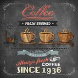 Coffee Board II Posters by Drako Fontaine