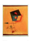 Conquérant Reproduction procédé giclée par Paul Klee