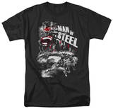 Man of Steel - Scratchy Steel T-shirts