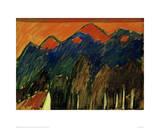 Landscape near Murnau Giclee Print by Alexej Von Jawlensky
