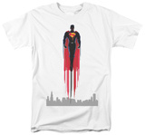 Man of Steel - Red Streak T-shirts