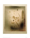 Strange Theatre Giclee Print by Paul Klee