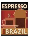 Deco Coffee I Premium Giclee Print by  Pela