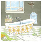 Gold Bath II - Mini Print by Jocelyn Haybittel
