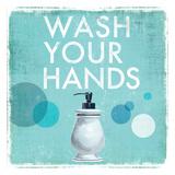 Wash your Hands Poster van Drako Fontaine