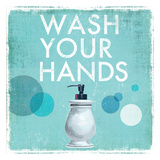 Wash your Hands Posters by Drako Fontaine