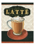 Coffee Moment II Premium Giclee Print by Lisa Audit