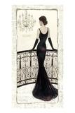 La Belle Noir Premium Giclee Print by Emily Adams