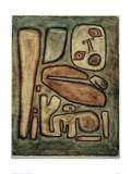 Outbreak of Fear III Giclee Print by Paul Klee