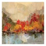 Fall Riverside II Premium Giclee Print by Silvia Vassileva